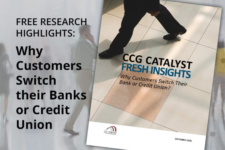 Abstract: Why Customers Switch Their Bank or Credit Union