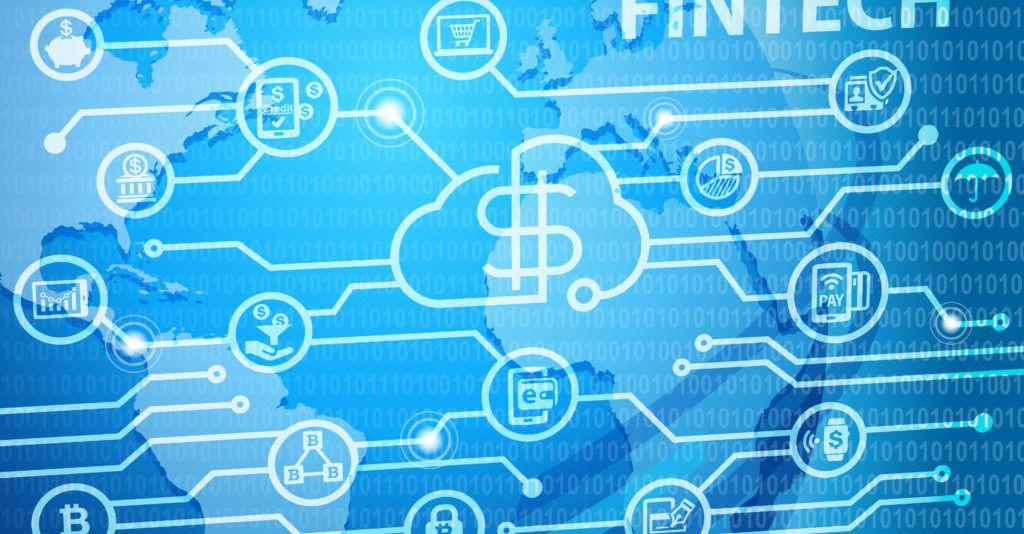 Fintech Financial Technology Business Banking Service
