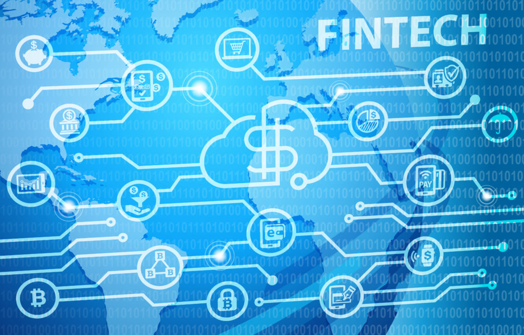 Fintech Financial Technology Business Banking Service
