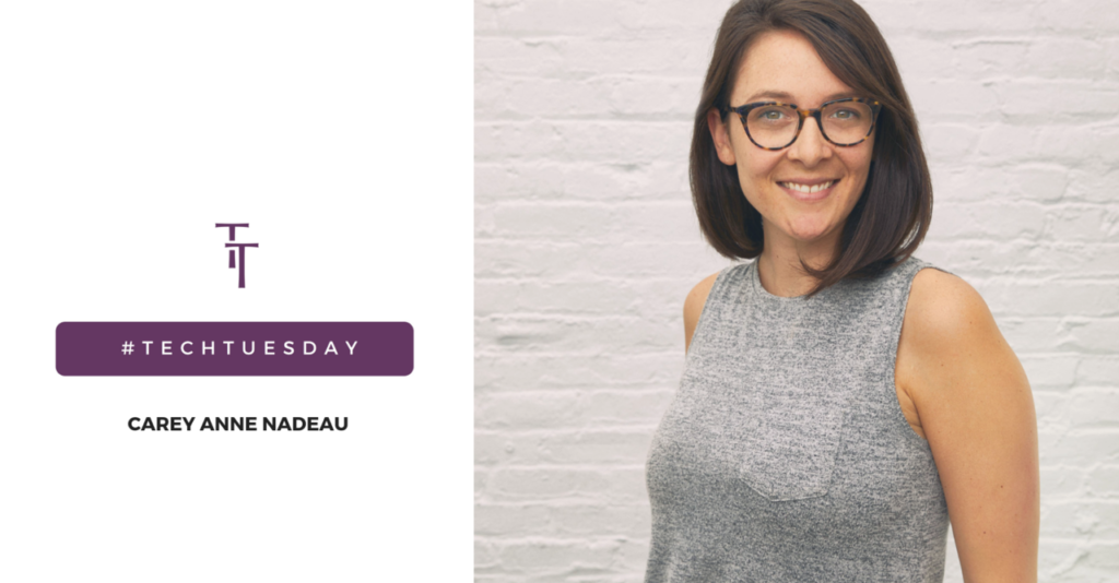Tech Tuesday: Carey Anne Nadeau, Founder & CEO, ODNsure