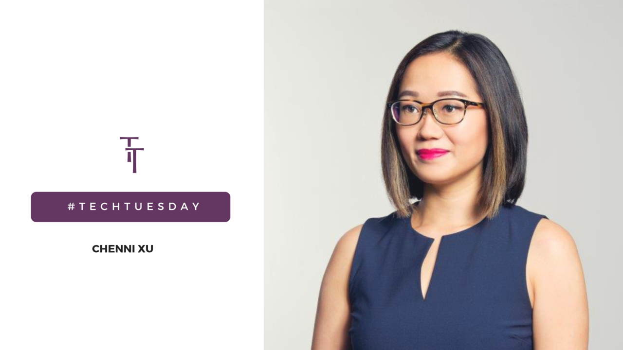 Tech Tuesday: Chenni Xu, Corporate Communications Lead for Ant Financial